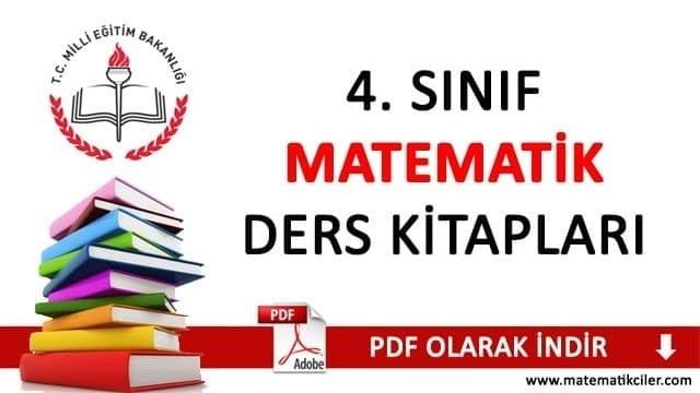 4 Sınıf Matematik Ders Kitabı 2018 2019 Ata Yayıncılık