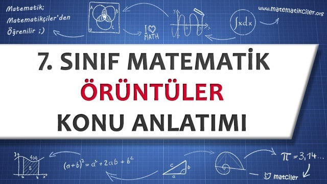 7 Sinif Oruntuler Konu Anlatimi Matematikciler Com