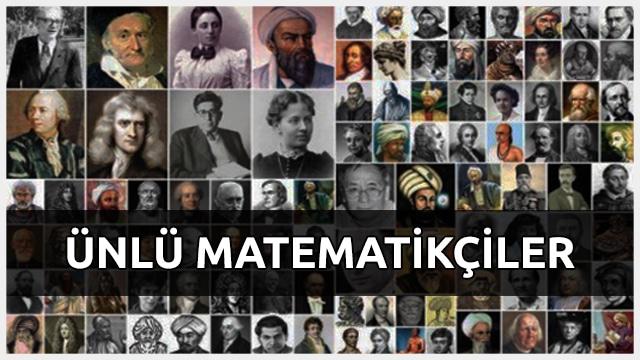 ünlü Matematikçiler Ve Hayatları Matematikcilercom