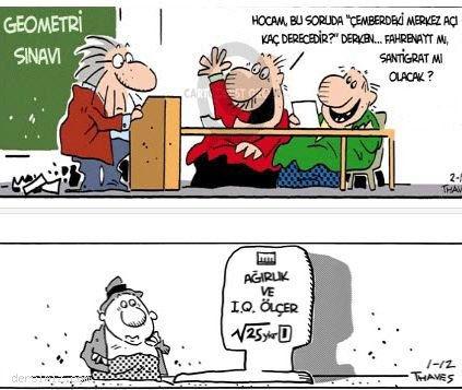 Matematik Karikatürleri